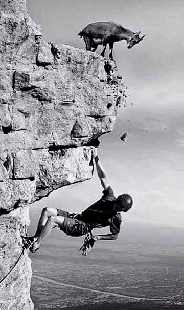 – Яким би ти не був альпіністом