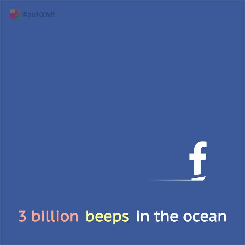 3 billion beeps in the ocean